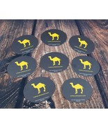 Lot of 8 Camel Cigarettes Collectible Beer Drink Coasters Smoke Tobacco NEW - $18.76