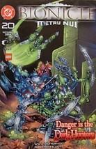 Bionicle Metru Nui Danger Is the Dark Hunters, #20 2004 [Comic] Greg Farshtey an - $5.79