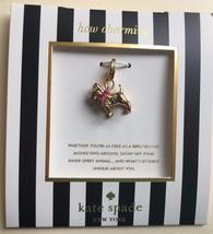 NWT Authentic KATE SPADE How Charming Scottie Dog Charm Bracelet Pendant - $24.44