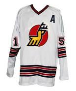 Custom Name # Michigan Stags Retro Hockey Jersey New White Curtis 15 Any... - $54.99+