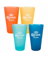 Corona Extra Multi Colored Plastic Cup Set Blue - $16.98