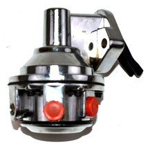 Big Block Chevy V8 396 402 454 CHROME Mechanical High Volume Fuel Pump Gas Pump