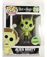 Funko Pop Alien Morty #338 2018 ECCC Exclusive E2 - $14.85