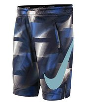 Nike Toddler Boy's Dri-Fit Printed Shorts, Binary Blue (3T)