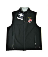 Charles River Mens Fleece Vest - M - Black - Saint Francis University Re... - $37.27