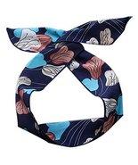 Womens Self Tie Twist Bowknot Headband Chiffon Floral Hair Band Accessor... - $20.50