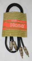 Hosa Technology CRA403 Dual RCA To Same 3 Feet Left And Right Applications - $8.99