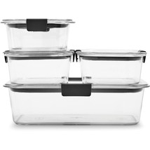 Rubbermaid Brilliance Food Storage Container 10-Piece Set Clear - $29.58