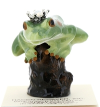Hagen-Renaker Miniature Tree Frog Figurine Birthstone Prince 10 October Opal