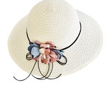N fashion flower wide brimmed floppy foldable summer sun beach hats caps for women thumb155 crop