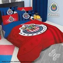 Club Chivas Guadalajara Soccer Futbol Comforter Full - $133.65