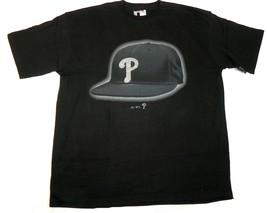 Men's Big Philadelphia Phillies Shirt Baseball Tee T-Shirt Bling Cap Logo - $19.79