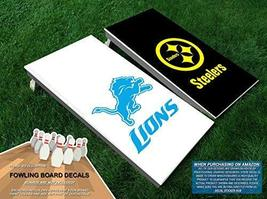 Lions vs. Steelers Fowling Board Decals | Vinyl Decals for Football Bowl... - $40.00