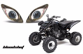 AMR Racing Headlight Graphic Decals Cover Yamaha Raptor 660 Parts 01-05 ... - $18.95