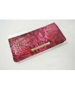 NWT! Brahmin Ady Embossed Leather Wallet in Petunia Melbourne - $92.00