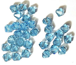 12pcs - 6mm Swarovski Crystal Faceted Bicone Beads - You Choose The Color image 4