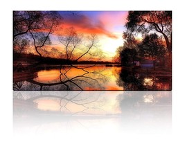Gardenia Art - Rural Scenery at Dusk Canvas Prints Modern Wall Art Paint... - $33.53