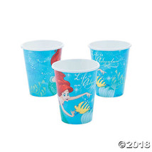 Disney's The Little Mermaid™ Paper Cups Decorations Supplies - $3.99