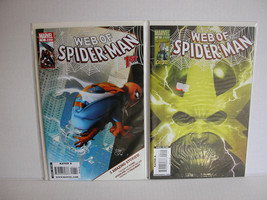 WEB OF SPIDER-MAN #1 AND 2  - FREE SHIPPING - $14.96