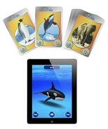 i3D App Supported INTERACTIVE CARDS iPhone iPod Touch iPad WILD ANIMALS ... - $19.94