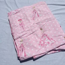 Twin Size Duvet Cover pottery Barn Kids Barbie Pink  - $33.85