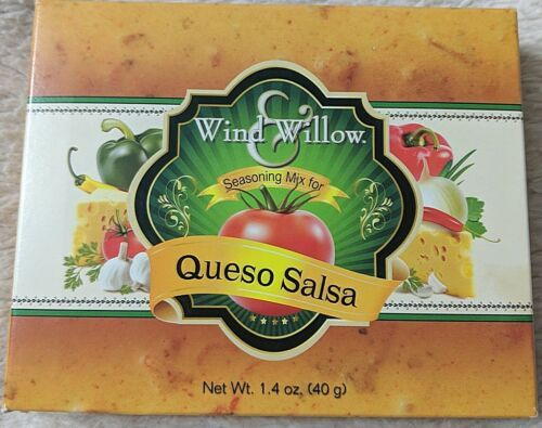 Wind And Willow 4053 Queso Salsa Seasoning Mix Contains Milk and Soy