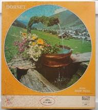 Dorset Round Jigsaw Puzzle OLD FOUNTAIN, MARZINE FRANCE 1971 NEW Milton ... - $39.99