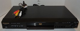 Panasonic DVD-RV32 DVD CD Player 192KHz Converter Cinema Surround NO Remote - $32.73