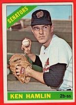 1966 Topps #69 Ken Hamlin baseball card - $0.01