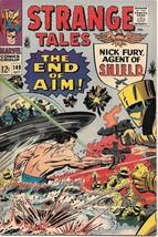 Strange Tales Comic Book #149 Marvel Comics 1966 FINE+ - $25.07