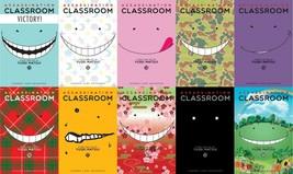 Yusei Matsui ASSASSINATION CLASSROOM Sci Fi MANGA Series Set of Books 11-20 - $83.99