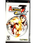 Street Fighter Alpha 3 Max - PlayStation Portable Sony PSP - $20.00