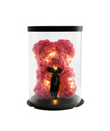 20cm Pink Rose Flower Teddy Bear Pillow Doll Birthday Wedding Valentine ... - $18.88+