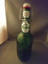 Vintage Grolsch Beer Bottle Swing Top Green Glass Empty - $8.00