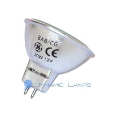 20857 GE BAB/CG Q20MR16C/CG40 20W 12V ConstantColor Precise Halogen Lamp
