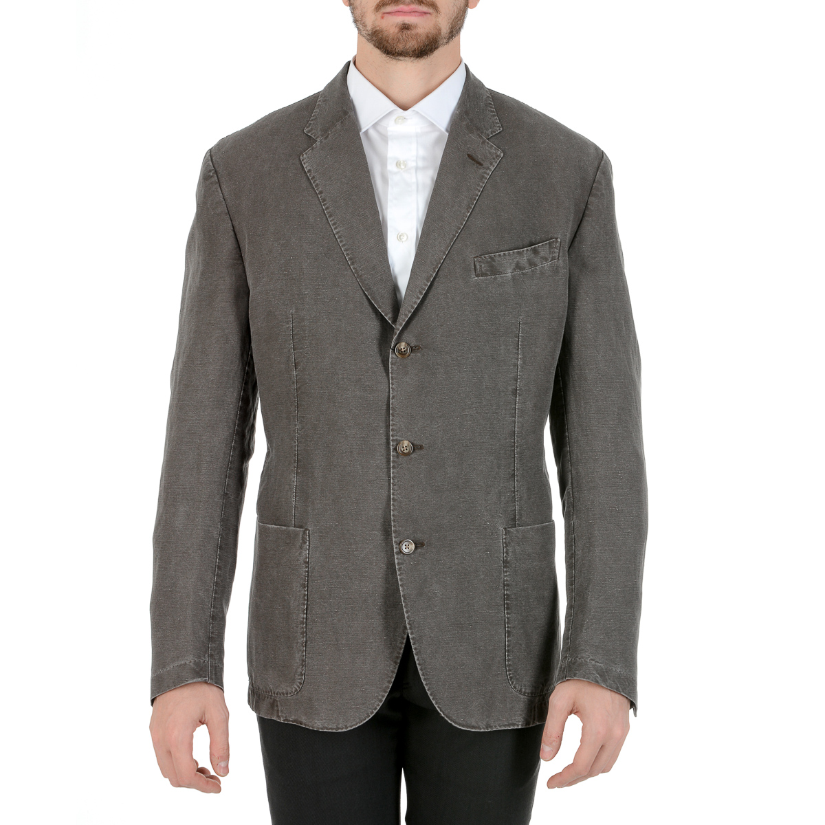 Primary image for Polo by Ralph Lauren Mens Jacket Long Sleeves Grey