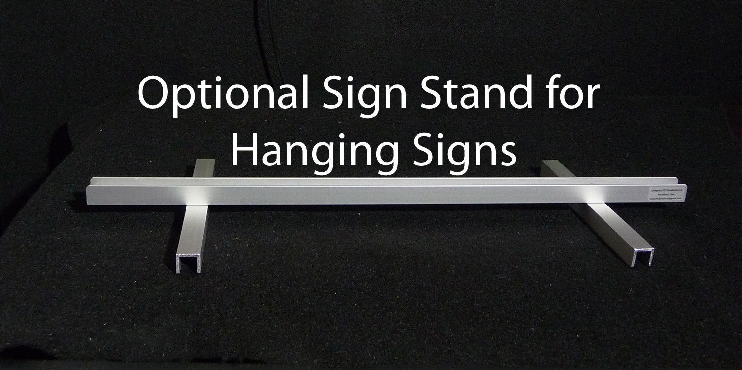 Primary image for Aluminum Sign Stand for LED Signs