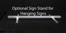 Aluminum Sign Stand for LED Signs - $16.34+