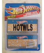 Hot Wheels License Plate Set New in package 3+ - $8.90