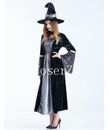 The Wizard of Oz Wicked Witch Halloween Costume Fairy Cosplay Costume - €72,11 EUR