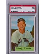 1954 Bowman Mickey Mantle #65 PSA 7 P365 - $3,406.22