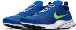Nike Presto Fliege Größe 10.5 M (D) Eu 44,5 Herren Laufschuhe Königsblau Volt
