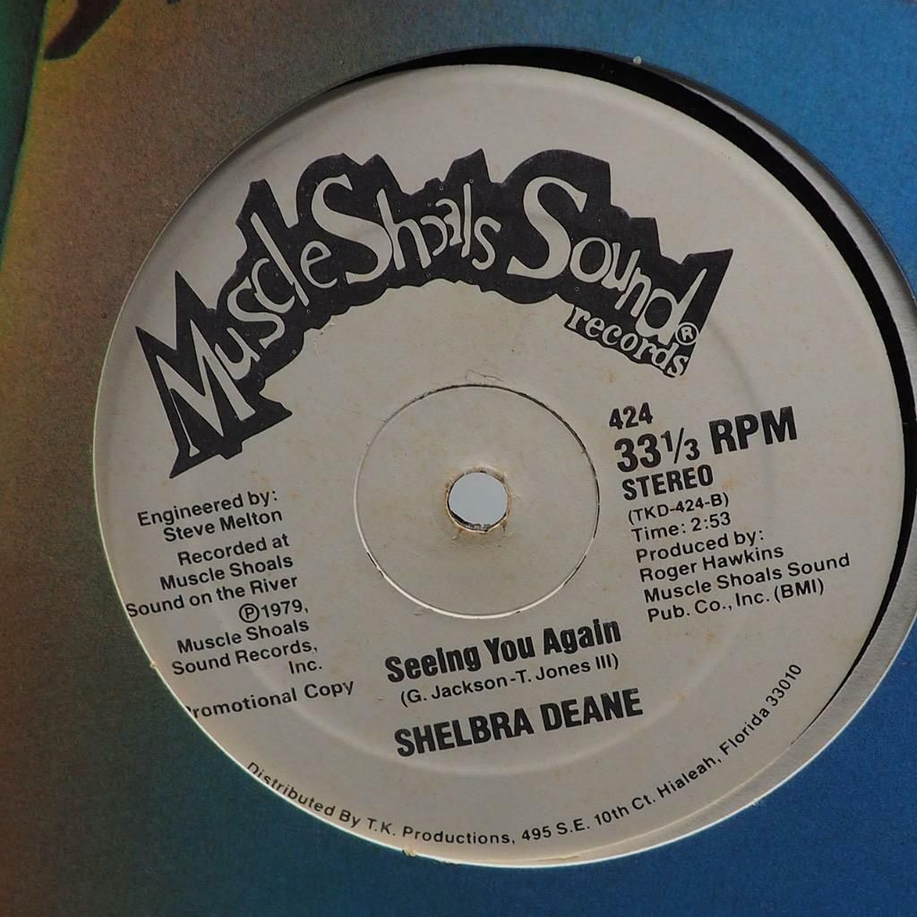 Vintage Shelbra Deane Seeing You Again Disco Record Vinyle Simple
