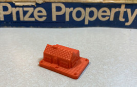 Prize Property Game Piece Tennis And Swim Club Orange Milton Bradley 1974 - $3.95