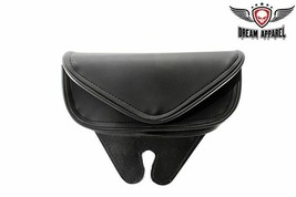 Black PVC Motorcycle Windshield Bag W/ QUICK VELCRO CLOSURE for HARLEY D... - $40.19