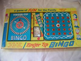 Vintage Finger Tip Bingo with Bingo Spinner & Bingo Markers - $12.32