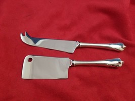 Grand Colonial by Wallace Sterling Silver Cheese Serving Set Custom Made - $98.10