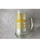 Vintage Parkland Fire Co #1 50th Anniversary Glass Mug - $7.99