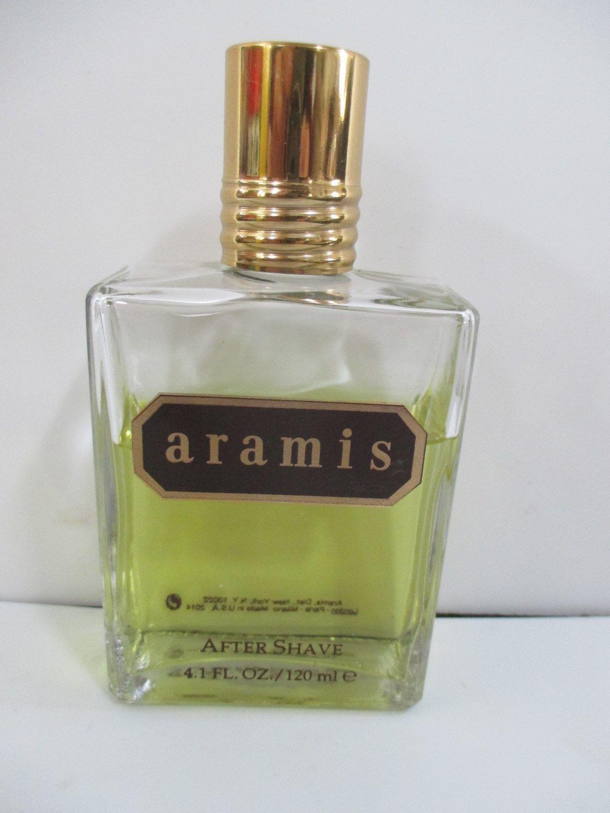 Aramis Men's 4.1 ounce Bottle After Shave 3/4 Full / splash on
