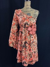 Anthropologie Large Dress JUDITH MARCH Kimono Long Sl Burnt Orange Red Brown LN - $39.95